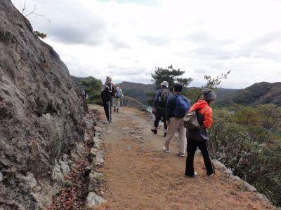 城山の軍道