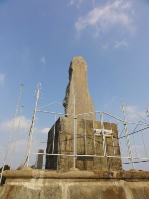 殿崎の記念碑