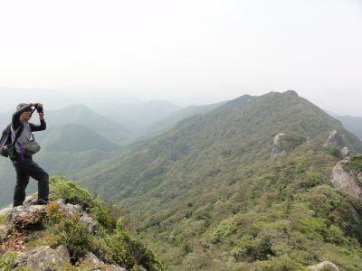 雄嶽山頂付近