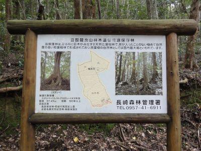 龍良山登山口