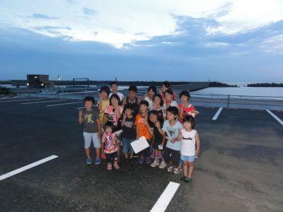 松尾さんと金田小の子どもたち