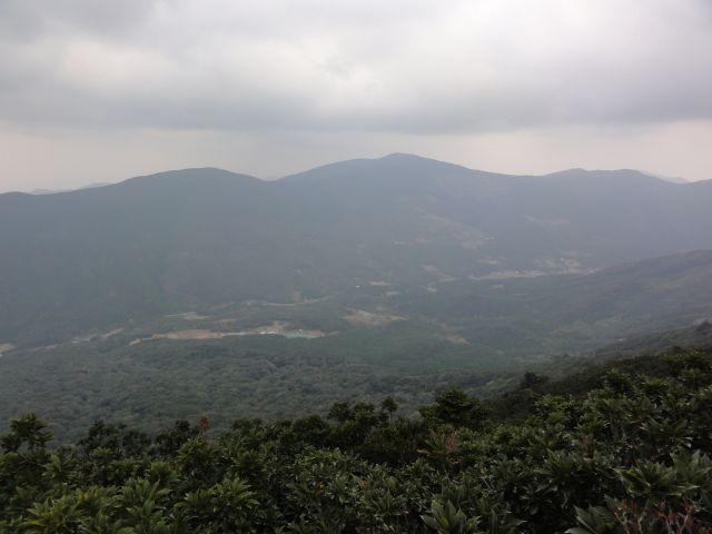 龍良山山頂からの眺望