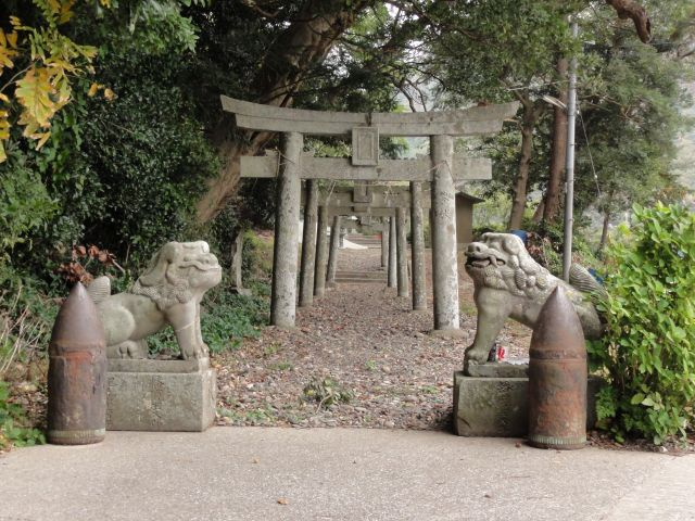雷命神社の鳥居