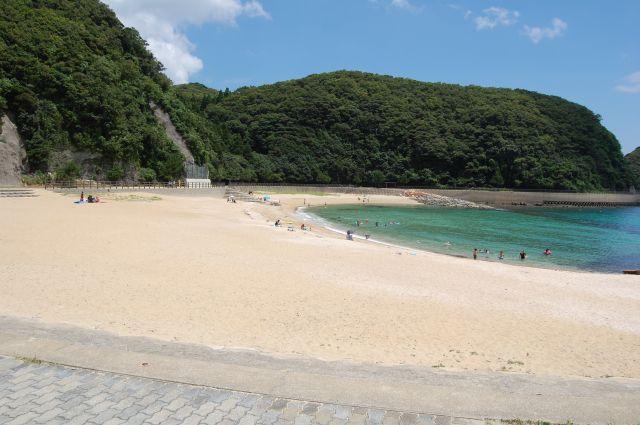 美津島海水浴場遠景1