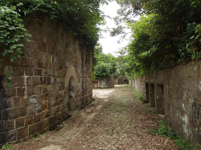 姫神山砲台(砲座)