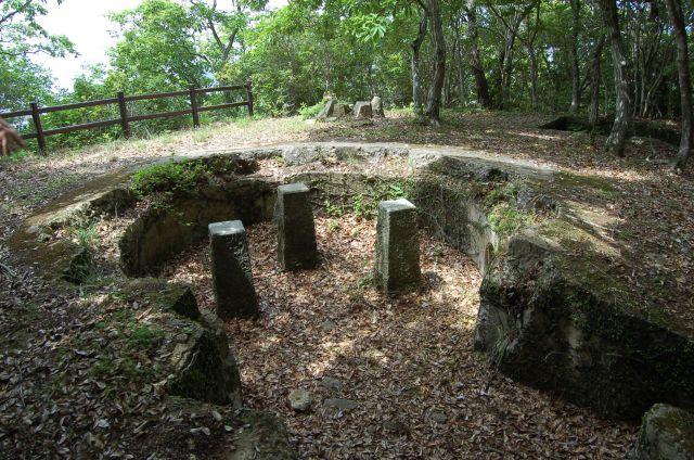 城山砲台跡
