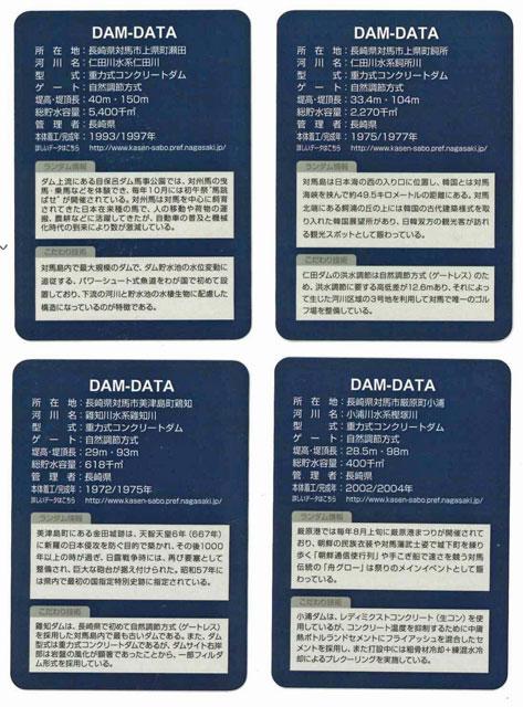 ダムカード(裏)